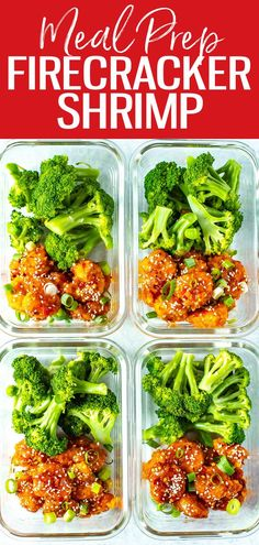 This Firecracker Shrimp is sweet, sticky, spicy and crunchy - it's a perfect appetizer or main dish when served with broccoli and rice. #firecrackershrimp Lunch Recipes, Seafood Recipes, Crockpot Recipes, Soup Recipes, Salad Recipes, Vegetarian Recipes, Chicken Recipes, Cooking Recipes, Healthy Recipes