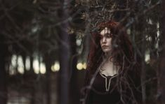 the witch who confined Thistle to the forest