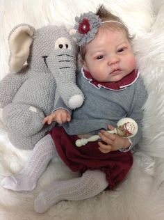 Reine by Ping Lau - Pre-Order - Online Store - City of Reborn Angels Supplier of Reborn Doll Kits and Supplies