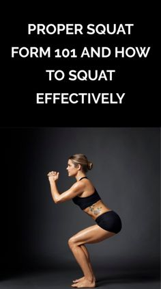 How to Master the Perfect Squat Squatting improperly can be painful and could result in injury Learn about proper squat form how to squat safely and effectively and the. Squat Challenge Results, Squat Results, How To Do Squats, How To Squat Properly, Squats Before After, Proper Squat Form, Benefits Of Squats, Squats Video, Squat Workout