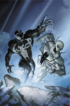 One of Marvel's most enigmatic, complex and badass characters comes to the big screen, starring Academy Award-nominated actor Tom Hardy as the lethal protector Venom. Venom Comics, Marvel Comics, Marvel Venom, Marvel Villains, Marvel Fan, Marvel Characters, Marvel Heroes, Comic Manga, Comic Art