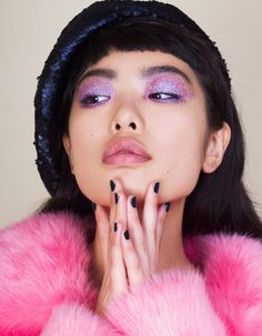 Kayt Webster-Brown shoot the beauty story Pages - Notion Magazine