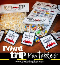 FREE printables for your next road trip. PLUS a link to over 140 fun, downloadable games to keep everyone busy.  www.TheDatingDivas.com #roadtrip #freeprintable #datingdivas