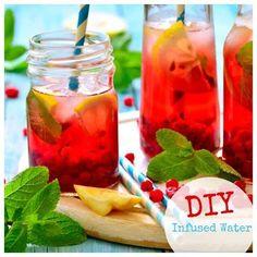 Infused Water: So einfach und lecker war trinken n