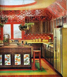 1970's kitchen design