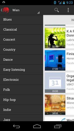 Ein erster Eindruck der neuen Eventphant Android App! Easy Listening, Jazz, Hip Hop, Indie, Blues, Android, Jazz Music, Hiphop, Easy Listening Music