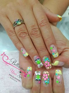 Animalitos Bunny Nails, Cat Nails, Love Nails, Pretty Nails, Nail Art 2014, Fabulous Nails, Stylish Nails, Beautiful Nail Art, Easy Nail Art