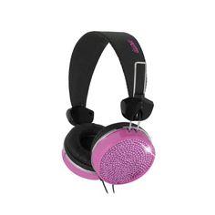 I love the iWave Audio Bling Headphones from LittleBlackBag