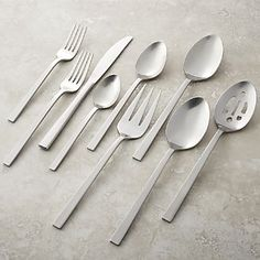 Hudson Flatware Set at Crate and Barrel Canada. Discover unique furniture and decor from across the globe to create a look you love. Luxury Furniture Brands, Affordable Furniture, Unique Furniture, Cheap Furniture, Custom Furniture, Discount Furniture, Cottage Furniture, Furniture Market, Kitchen Furniture