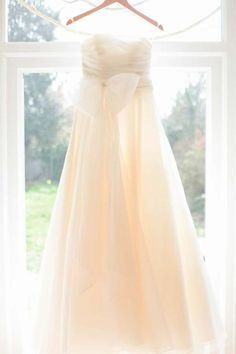 Simple Empire organza