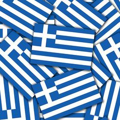 'Smartphone Case - Flag of Greece - Multiple' iPhone Case by mpodger Greek Flag, Buy Smartphone, Greek Beauty, Paradise On Earth, Travel Themes, Iphone Case Covers, Italy, Lent, Prints