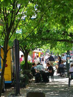 Portland, Oregon has the best food cart scene!