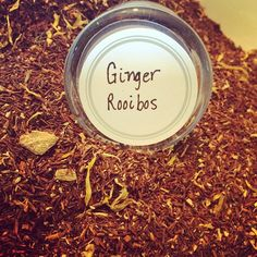We've got a fabulous new Rooibos that will cleanse your palette, is a great alternative to green tea when eating spicy Asian dishes and is packed full of iron, potassium, calcium and copper zinc which is great for you! Try our new Ginger Rooibos! #ginger #rooibos #looseleaftea #treehouseteas #teaadventure #asheboro #nc  www.treehouseteasnc.com