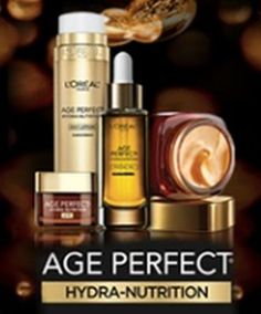L'Oreal Free Age Perfect Hydra-Nutrition Skin Care Sample - US