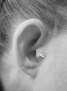 Cute Bow Earring for Tragus Piercing ♥