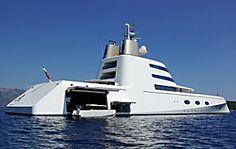 A Luxury Motor Yacht by Blohm + Voss Shipyards Yacht Design, Boat Design, Super Yachts, Speed Boats, Power Boats, Jets Privés De Luxe, Most Expensive Yacht, Jet Privé, Cool Boats
