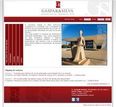 Site Gaspar & Silva