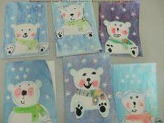 peinture ours polaire maternelle - Recherche Google