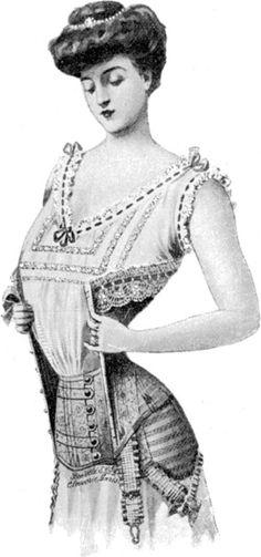 edwardian underwear
