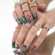 I voted to make Jessica Washicks Stargazer Lily design into a Scratch nail wrap!