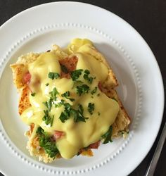 Edible Life in YYC: overnight eggs benedict casserole