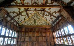 "Little Moreton Hall long gallery ""Destiny"""