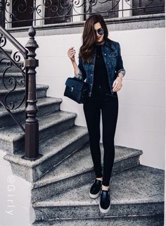 99 Perfect Fall Fashion Outfits Ideas To Copy Right Now Black fall outfits Cute Spring Outfits, Casual Work Outfits, Fall Fashion Outfits, Mode Outfits, Classy Outfits, Look Fashion, Trendy Outfits, Trendy Fashion, Autumn Fashion