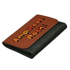 #Amputees Rock! (Orange) Wallet