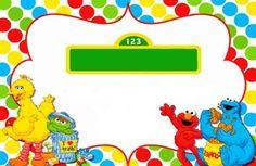 Free Sesame Street Invitation Template Maddies First Bday - Free printable elmo birthday invitations template