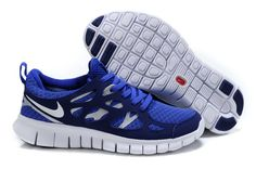 Free Run 2 Womens Shoes Blue White