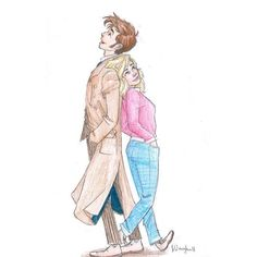 Doctor Who ❤ liked on Polyvore featuring doctor who, fillers, drawings and anime