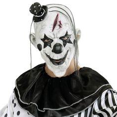 Máscara Payaso Terror #mascaras #antifaces #carnaval
