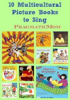 10 Multicultural Picture Books to Sing from my guest author Jbrary!! :: PragmaticMom