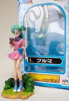 Dragon Ball Z Bulma Figure Megahouse Charavignette Vol.01 JAPAN ANIME MANGA