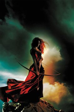 "cover art, ""Fire"" by Kristen Cashore #archery"
