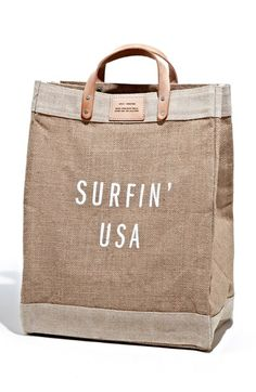 Apolis 'Surfin USA' Market Bag available at #Nordstrom