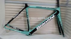 Free shipping 2014 hot sell the most popular bianchi Carbon Road  Bike frame weight just 1130g $580.00