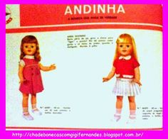 Chá de Bonecas com Gigi Fernandes: Boneca Andinha, Estrela, 1968