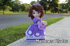 Sofia the First Pinata Princess Sofia by Marlenespinatas on Etsy