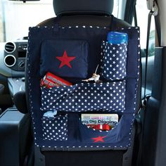 Car Organiser - Keep the car tidy and everything they need within easy reach #familyroadtrip