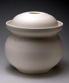 4 liter crock for fermenting or pickling by CathouseClay on Etsy, $150.00