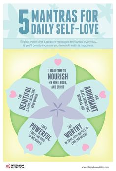5 Mantras For Daily Self Care happy life happiness positive emotions lifestyle mental health confidence self love self improvement self care affirmations self help emotional health daily affirmations mantras