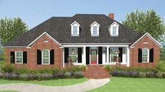 Floor Plans AFLFPW12050 - 1 Story Country Home with 3 Bedrooms, 3 Bathrooms and 1,990 total Square Feet