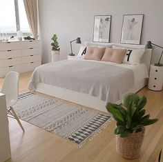 45 Outstanding Scandinavian Bedroom Design Ideas is part of Scandinavian design bedroom - When looking for ideas to create an interesting appearance for small bedrooms, I like to look at far bigger ideas […] Room Ideas Bedroom, Home Decor Bedroom, Master Bedroom, Room Design Bedroom, Art For Bedroom, Bright Bedroom Ideas, Room Decor Bedroom Rose Gold, Bedroom Decor On A Budget, Simple Bedroom Decor