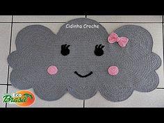 Crochet Videos, Kids Rugs, Moana, Crochet Rug Patterns, Mickey Bathroom, Bear Rug, Crochet Rugs, Crochet Stitches, Rugs