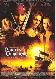 Pirates of The Caribbean. Favorite movie of all time. :)