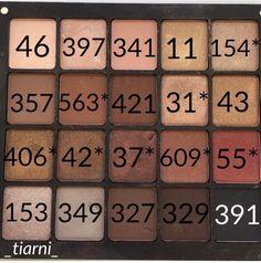 IG: _tiarni_ Neutrals inglot freedom eyeshadow palette