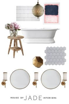 The Riverside House - Master Bathroom - House of Jade Interiors Blog