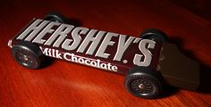 Great idea for the kids next pinewood derby car!