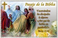Vidas Santas: Santo Evangelio según san Mateo 13:10